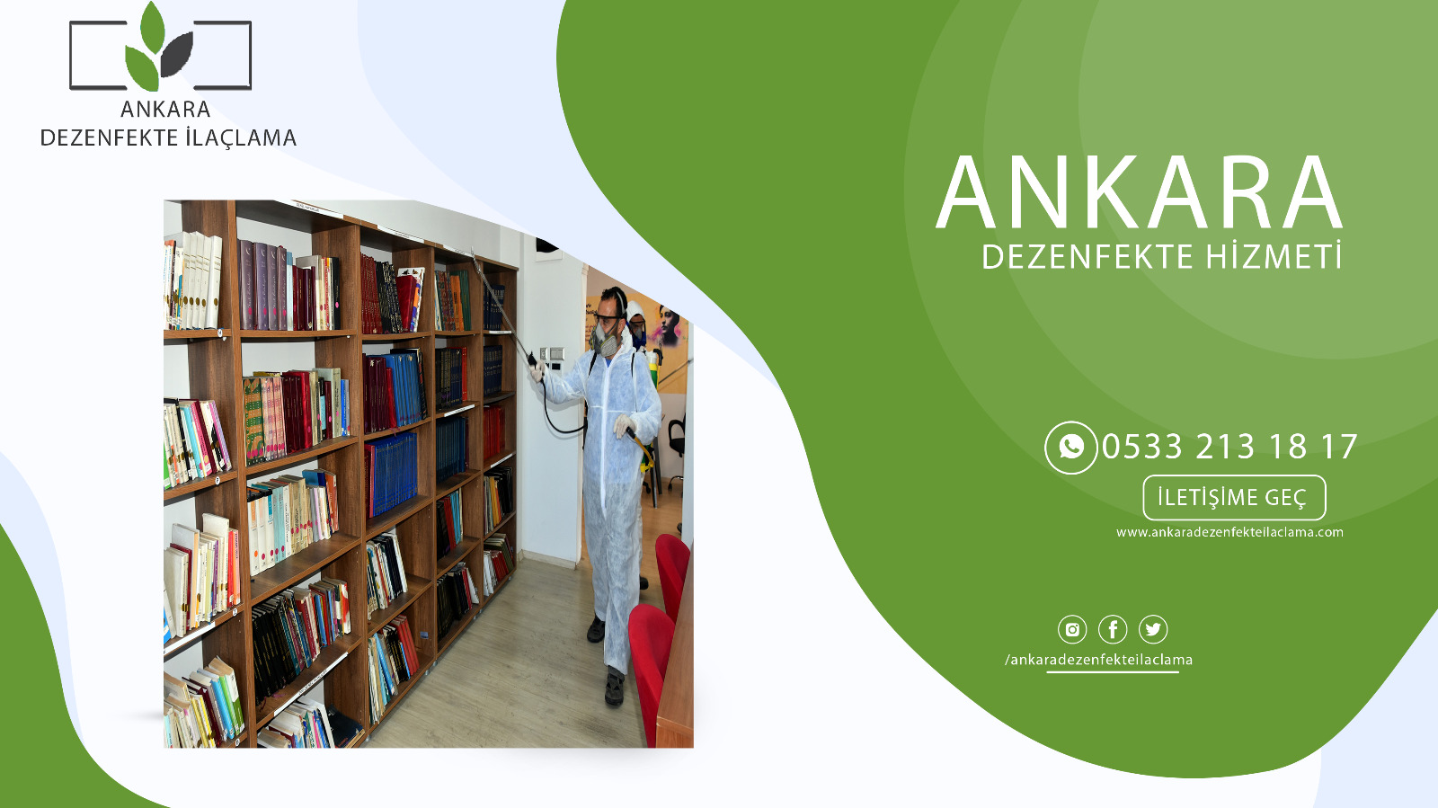 Ankara Dezenfekte İlaçlama