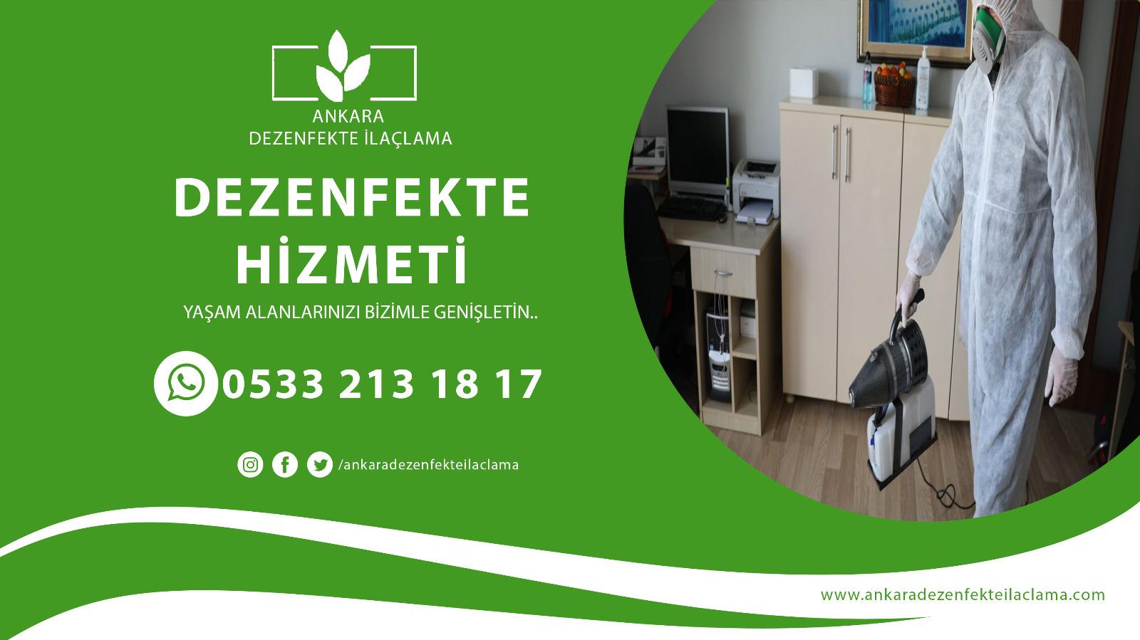 Ankara Dezenfekte İ